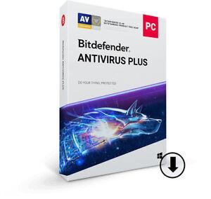 Consciencieux Bitdefender Antivirus Plus 2019 | 3 Dispositif | 2 Ans Envoi électronique-afficher Le Titre D'origine Doux Et AntidéRapant