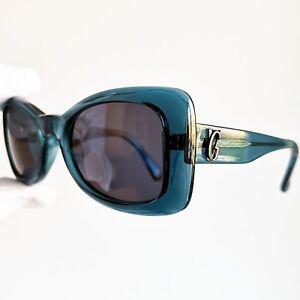 100% De Qualité Occhiali Da Sole Gianni Versace 404/g Blue Mask Wrap Angular Sunglasses Vintage Les Clients D'Abord