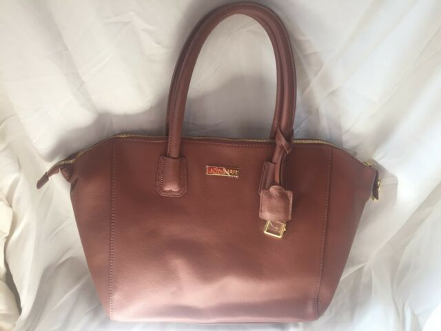 joy iman city satchel leather handbag large designer zip tote rh ebay com