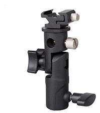 Brand NEW Flash hot shoe/ Umbrella holder Swivel Bracket Mount Light Stand