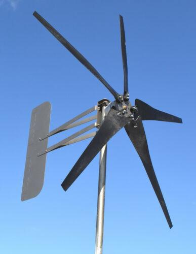 KT5 Wind Turbine 5 propeller LOW WIND 1880W 12 VAC 3 wire 7.2kW