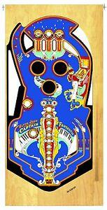 Bally Capitaine Fantastic Flipper Machine Playfield Revêtement Non Repassant