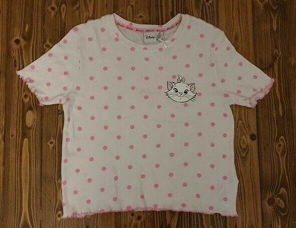 New ARISTOCAT MARIE THE CAT Ladies Pyjama Set Pajamas T-shirt Nightwear Primark.