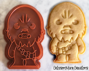 Chewbacca-Star-Wars-Cookie-Cutter-Wookie-Cookie-Biscuit-Baking-Ceramics-Pottery