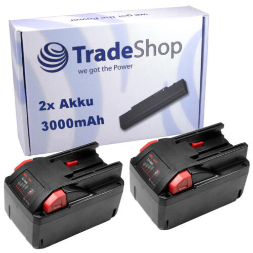 2x Batterie 28v 3000mah Li-Ion Battery remplace AEG Milwaukee würth 4932352732