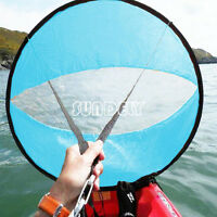 42 Blue Downwind Wind Paddle Popup Board Kayak Sail Wind Sail Accessories