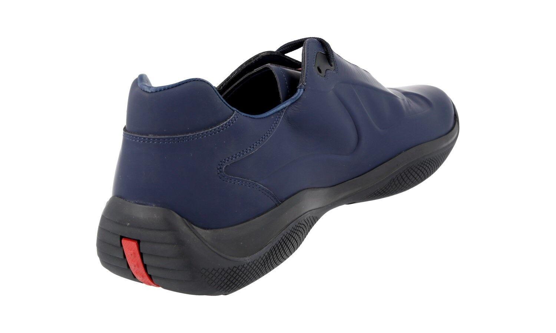 LUSSO PRADA AMERICAS AMERICAS AMERICAS CUP scarpe da ginnastica Scarpe 4e2965 BLU GOMMATA NUOVO 9 43 43,5 | Nuovi prodotti nel 2019  dfc452