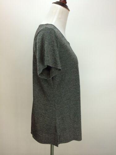 JOSTAR Poly Spandex Travel Top Short Sleeve Wrinkle resistant Loose Fit