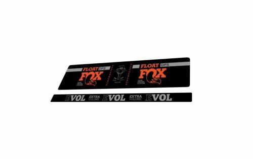 FOX DPS Float EVOL Performance 2018 Rear Shock Sticker Factory Decal Orange Gray