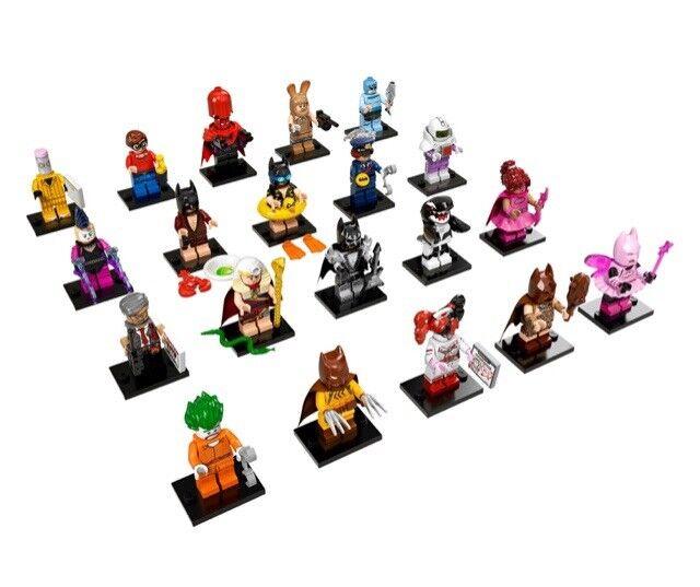 LEGO BATMAN MOVIE Série 1 - 20 Minifiguren-complet-incl. box-Etat neuf
