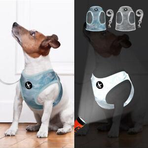 Hundegeschirr-und-Leine-fuer-Kleine-Hunde-Reflektierend-Welpengeschirr-Chihuahua