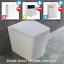 thumbnail 12 - Bathroom-Bundle-500WC-Unit-Toilet-Pan-amp-Seat-Concealed-Cistern-Vanity-Unit