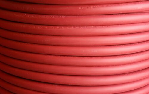 2//0 AWG Flex-A-Prene® Welding//Battery Cable Red 30 FEET Made in USA