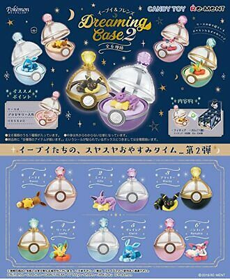 Re-ment Pokemon Eevee Friends Dreaming case Complete Full 4 Candy Toy Miniatures