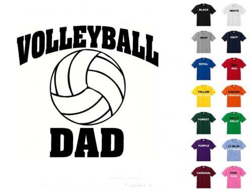 Free Shipping Volleyball Dad T-Shirt #D294