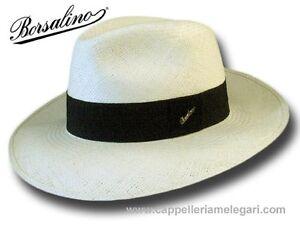 dea98520c1 Hüte & Mützen Cappello Borsalino 140229 fedora Panama Quito 7,5 cm