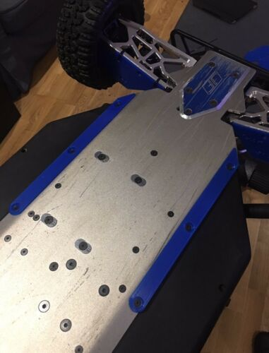 Losi 5ive T Chassis Protector Belly Skid Plates Accessories