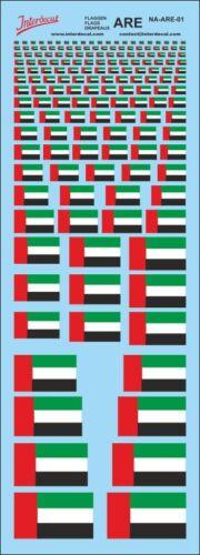 Flaggen Vereinigte Arabische Emirate Decal 180x70 mm NA-ARE-01