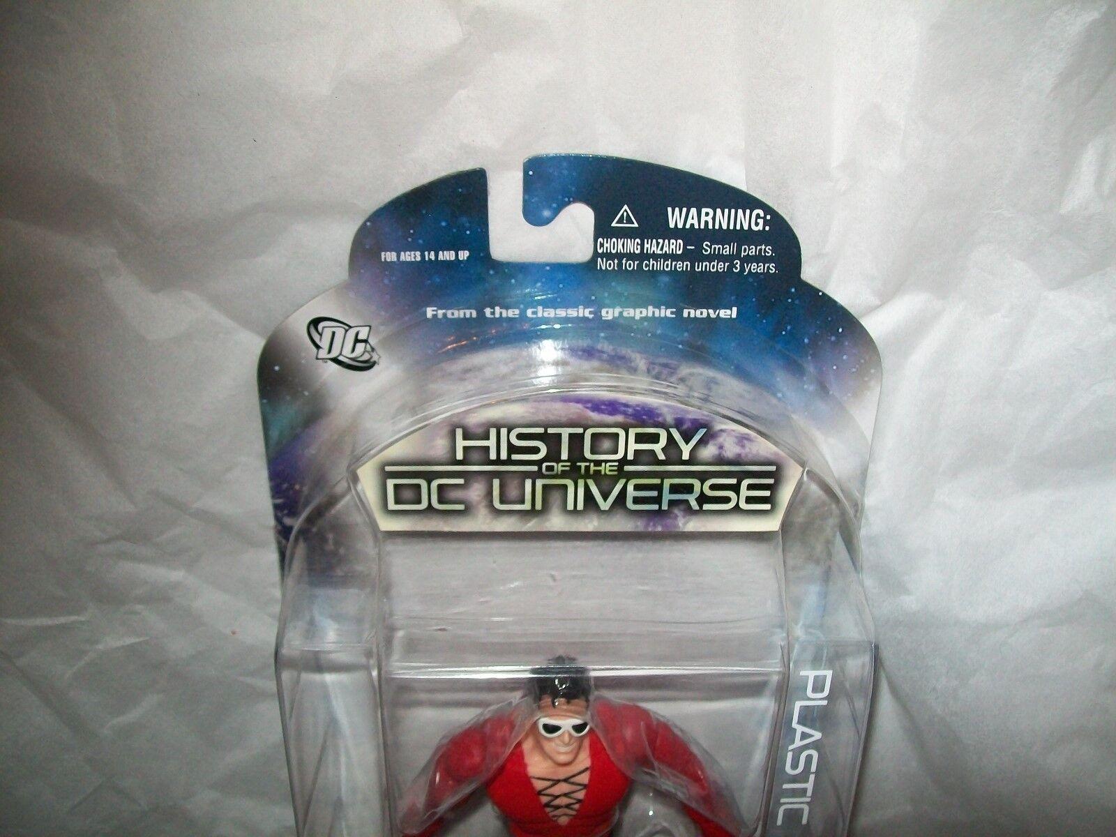 HISTORY OF THE DC UNIVERSE PLASTIC MAN FIGURE FIGURE FIGURE SERIES 3 DC DIRECT 2009 BRAND NEW fdfee9