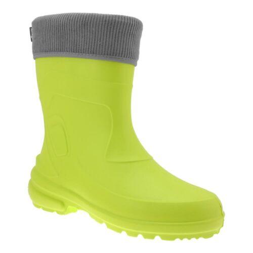 LEMIGO Superleichte EVA Damen Regenstiefel mit Stiefelsocken Mädchen Stiefel NEU