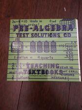 Teaching Textbooks Pre-Algebra Test Solution CD (version1.0)