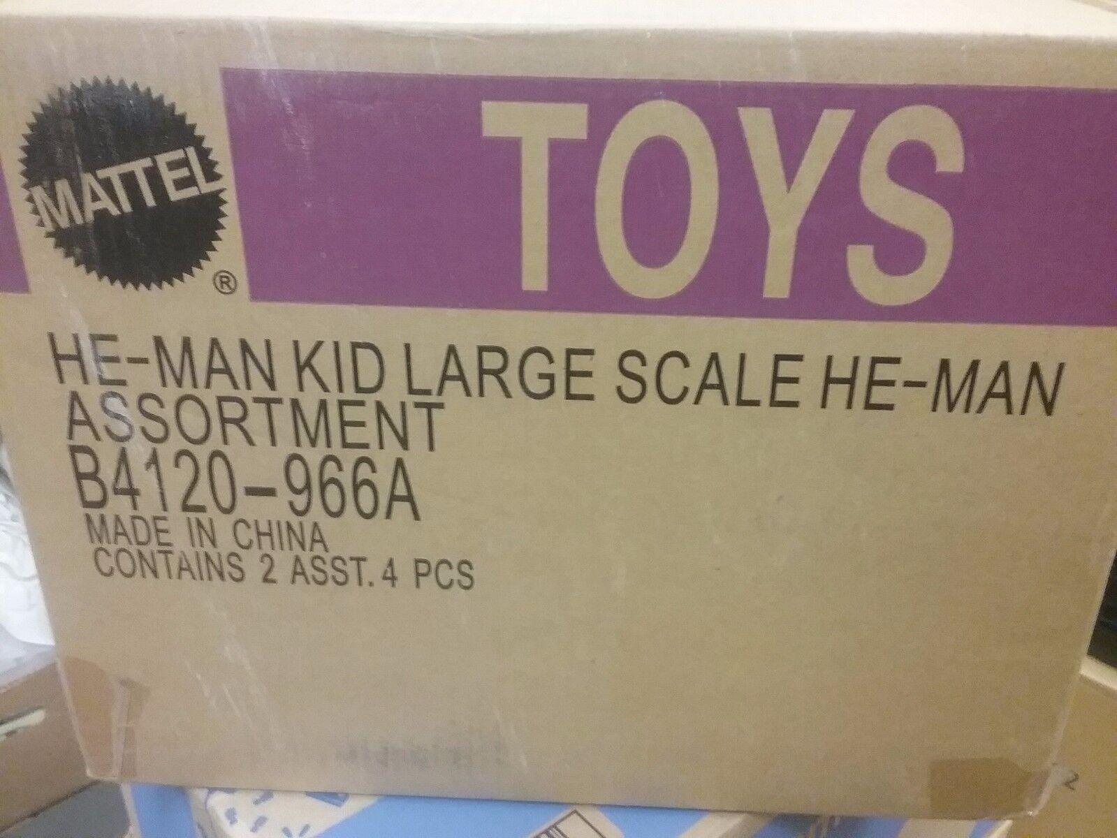 Mattel Amos del Universo 20XX rojoO figuras de gran escala Heman Skeletor caso Nuevo Envío Gratis EE. UU.