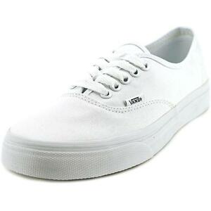 VANS Unisex Authentic True White Canvas Vn000ee3w00 Mens 6.5 Womens ... 051adc498da6