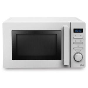Silva-Schneider-MWG-e-20-6-bianco-Microonde-con-Grill-700-Watt