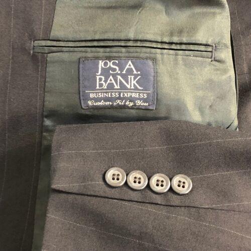 Jos 36x30 scuro l Tuta uomo taglia 43 A righe Express a blu da a Bank Business strisce H4wHa