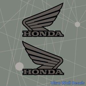 Details Zu Honda Flügel Für Den Tank Beide Seiten Motorrad Aufkleber Sticker 135 X 110 Mm