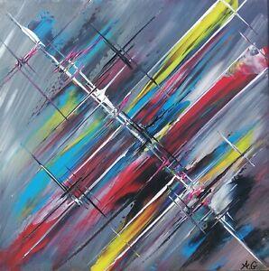 Tableau-abstrait-contemporain-40-x-40-cm-uvre-originale-de-Audrey-Granjeaud