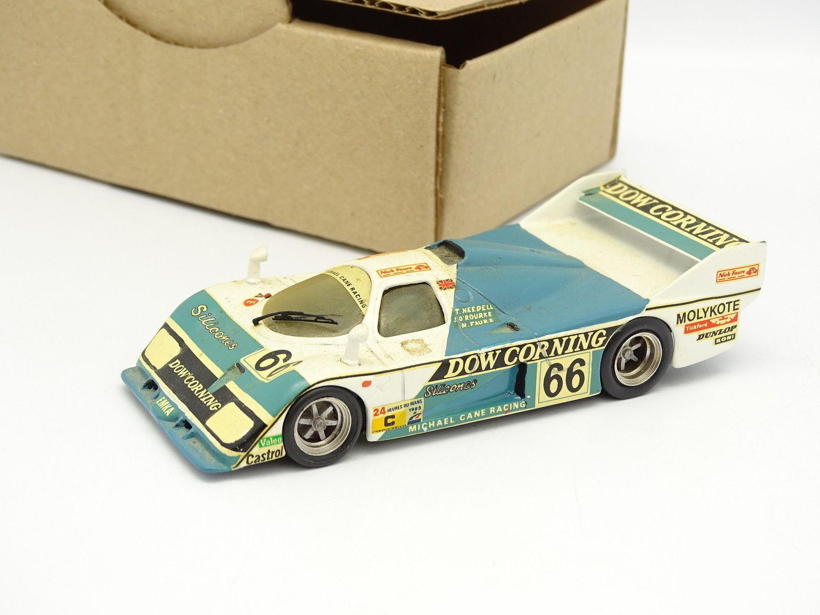 mejor moda Mini Racing Kit Monté Métal SB SB SB 1 43 - Emka C84 Aston Martin Le Mans 1985 N°66  contador genuino