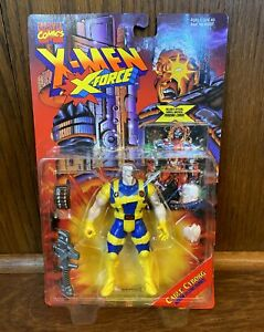 Cable-Cyborg-Vintage-X-Men-X-Force-Action-Figure-New-1995-Toybiz-90s-Marvel