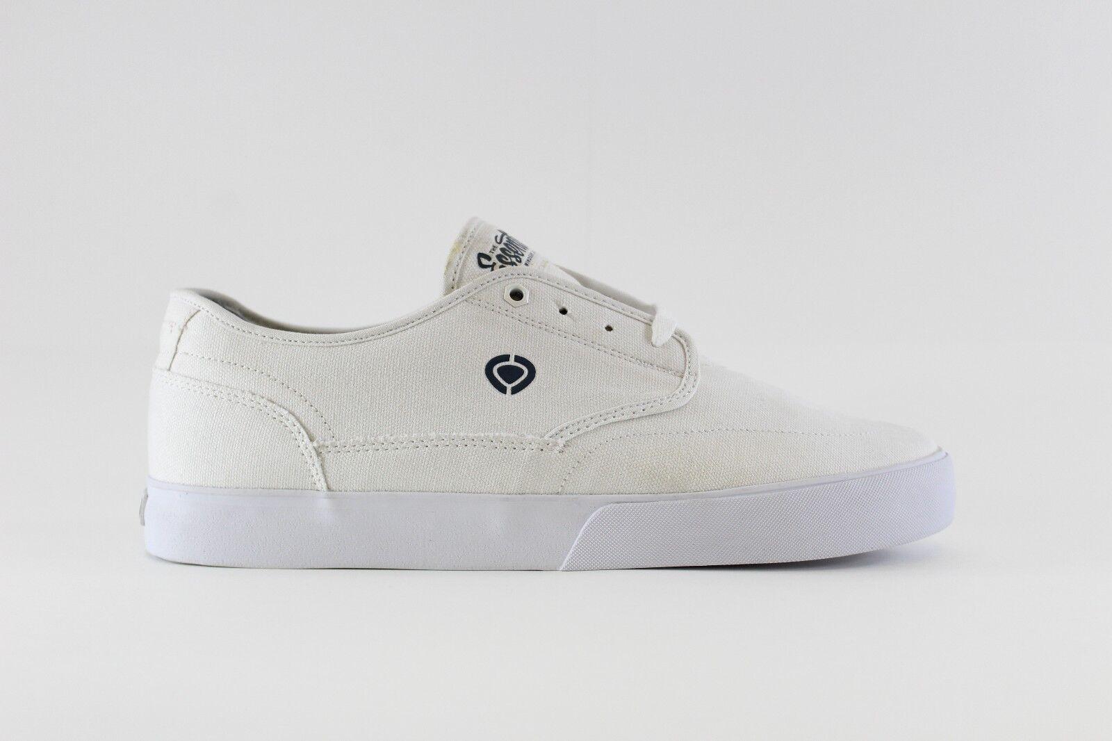 C1RCA Uomo Uomo Uomo Essential Skate scarpe, bianca Dark Denim, 11.5 M US b4bf8a