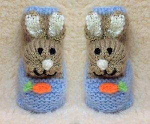 KNITTING PATTERN - Peter Rabbit inspired Baby Easter ...