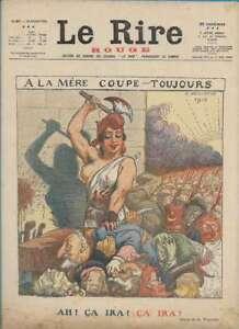 Journal-Le-RIRE-Rouge-edition-de-guerre-N-87-du-15-juillet-1916