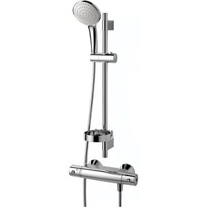 Modern-Thermostatic-shower-mixer-Ideal-Standard-A5677-Chromium-with-shower-kit