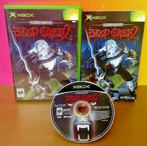Blood-Omen-2-Microsoft-Xbox-OG-Rare-Game-Complete-Tested-Working