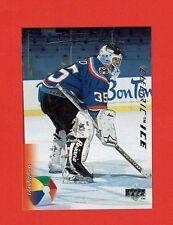 1995-96 Upper Deck ELECTRIC ICE parallel # 413 Tommy Salo N.Y. ISLANDERS GOALIE