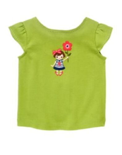Gymboree Blooming Nautical Top 12 18 24 2T 3T 4T 5T Toddler Girl Shirts Twin New