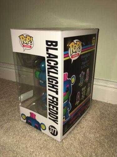 Funko POP Vinyl Figure Blacklight Freddy 377 GameStop Friday Nights at Freddy's