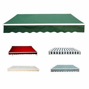 Garden-Patio-Manual-Awning-Canopy-Sun-Shade-Shelter-Retractable-4-Size-5-Colour