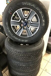 Ford F150 Wheels >> Details About 2006 2018 Ford F150 Factory 18 Wheels Tires Oem Rims Nto 275 65 18 Fx4 32