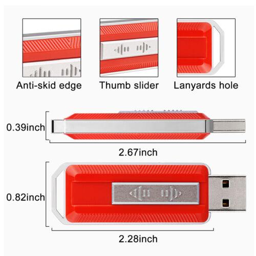 5pcs USB Flash Drives Thumb Slider 4GB Enough Storage Memory Sticks U Drives