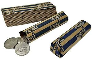 J Mark 100 Nickel Coin Roll Wrappers Made In Usa J Mark Coin