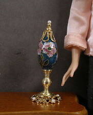 1:6  Scale ~ CLOISONNE  EGG  ON  STAND  for  Barbie ~ Patsy Mac ~ Action Figure