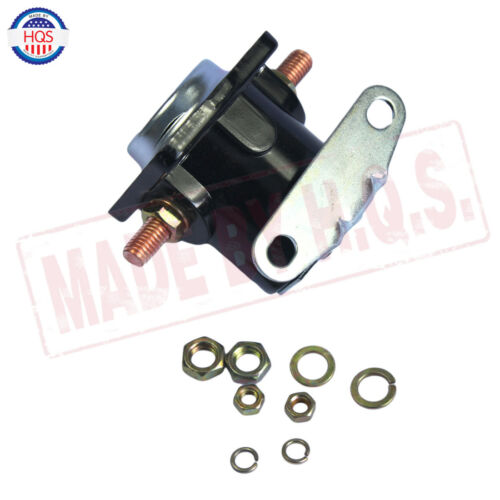 Black 12V STARTER SOLENOID RELAY SW-3 Ford Jeep Lincoln Mercury 1958-1991