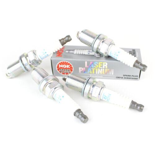 4x FORD FOCUS MK2 1.8 Flexifuel autentico NGK LASER PLATINUM SPARK PLUGS