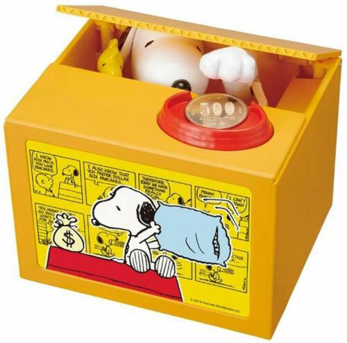 mo-2 Shine Snoopy Sonund Coin Bank OFFICAL JAPAN