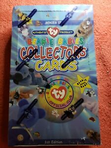 TY-Beanie-Babies-Collectors-Cards-1st-Edition-Series-2-Sealed-Box-1999